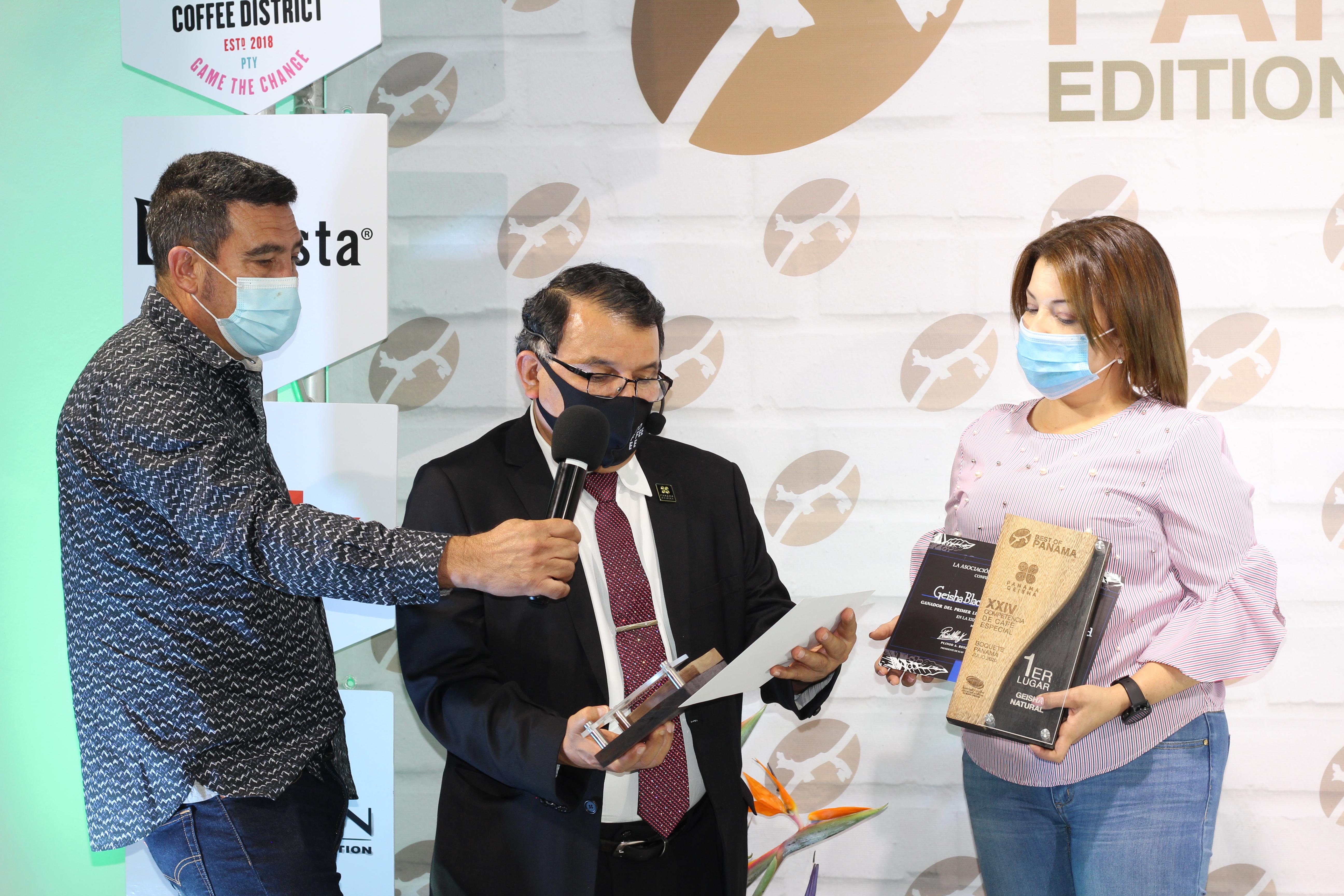 Premian el Café Especial de Panamá