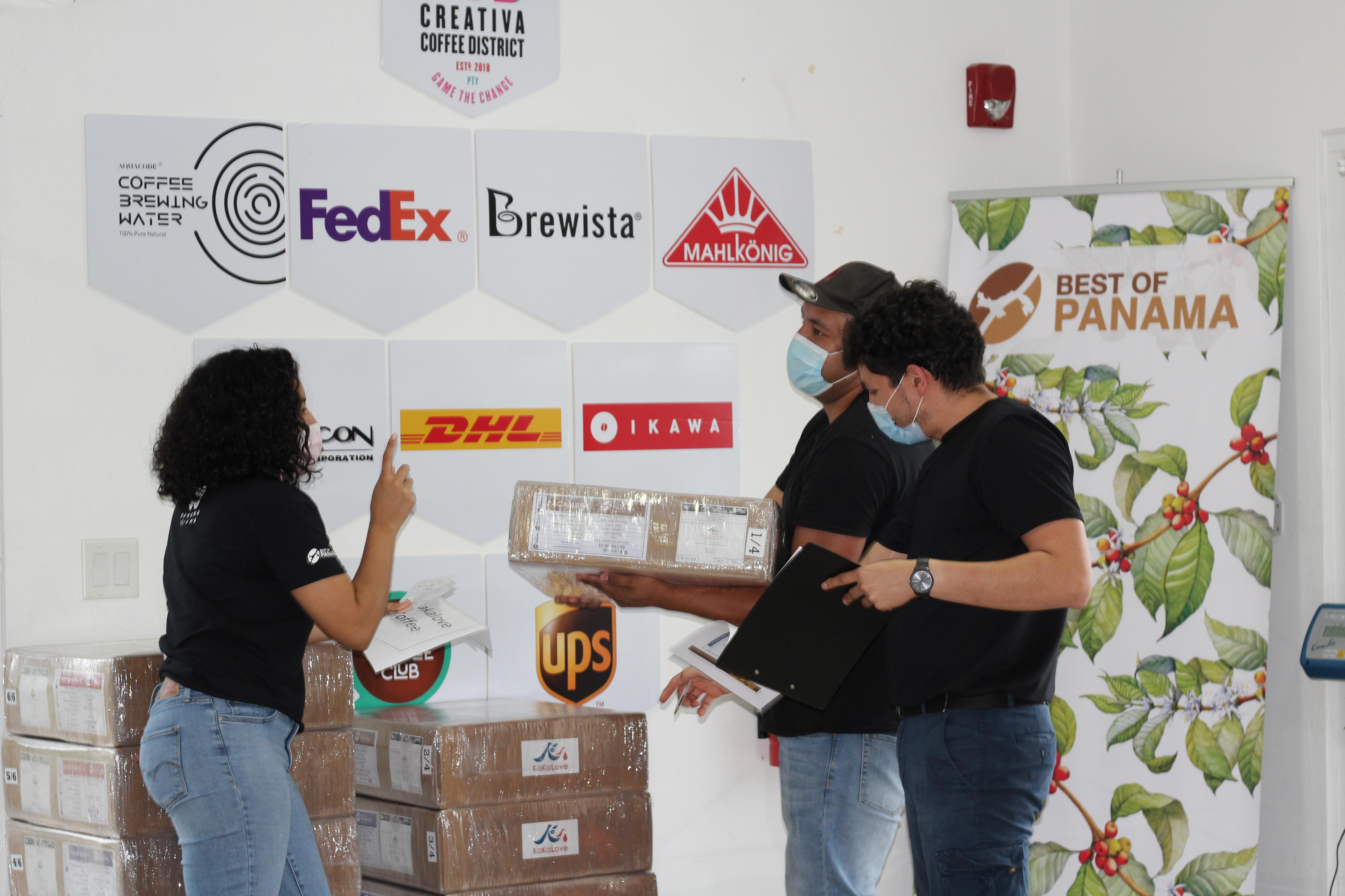 PANAMÁ EXPORTA 5 MIL LIBRAS DE SU MEJOR CAFÉ VENDIDAS EN SUBASTA ELECTRÓNICA